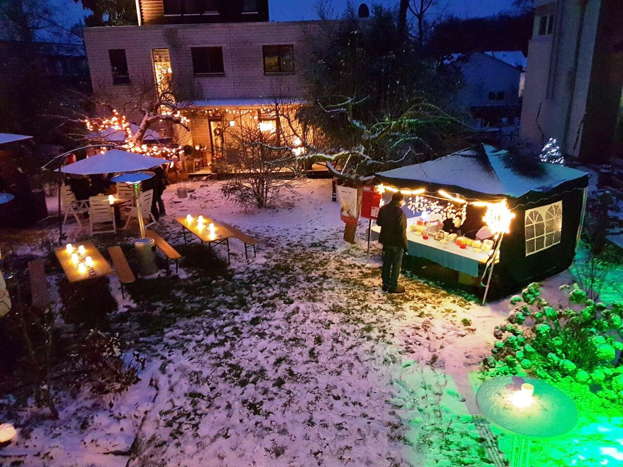 Privater Nikolausmarkt Am 50 Geburtstag Dumusstkampfen
