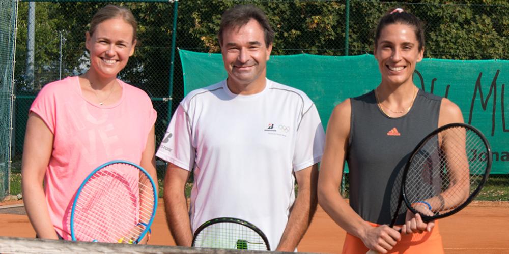 Tennis-Trophy 2020 mit Groenefeld und Petkovic